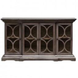 Belino Wooden 4 Door Chest 25629
