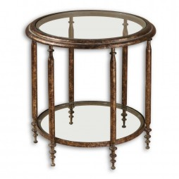 Leilani Round Accent Table 26011