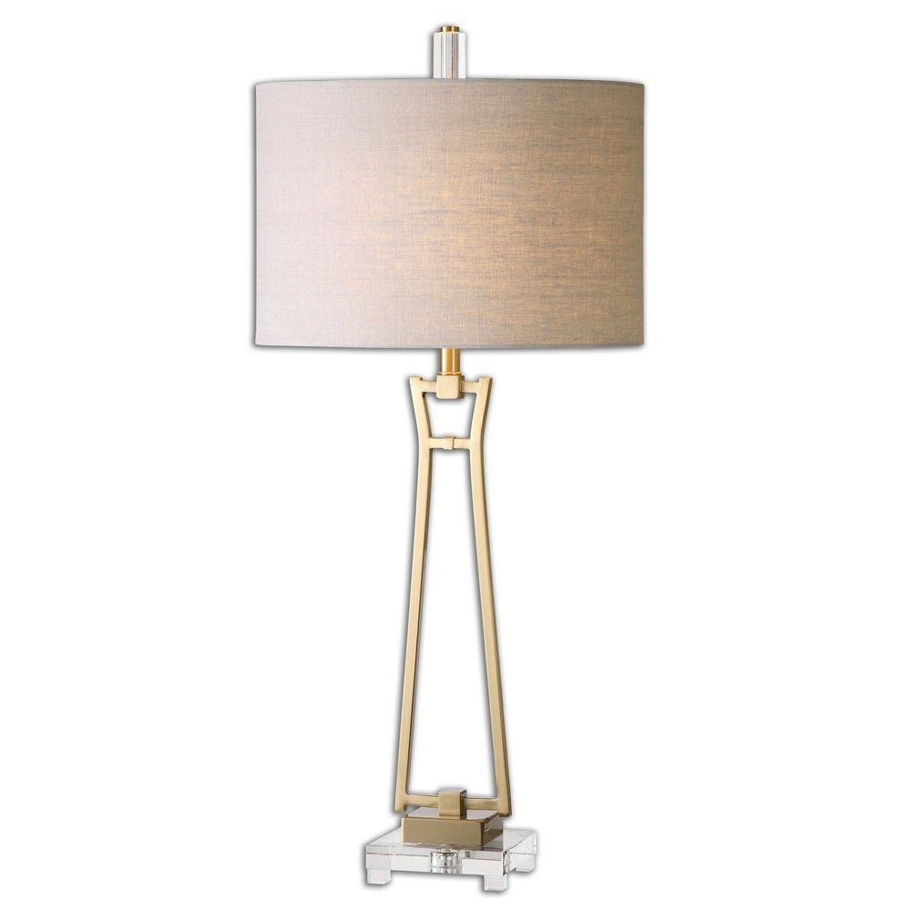 Home Accessories Leonidas Gold Table Lamp 26144 1
