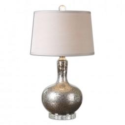 Aemilius Gray Glass Table Lamp 26157