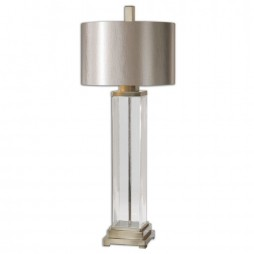 Drustan Clear Glass Table Lamp 26160-1