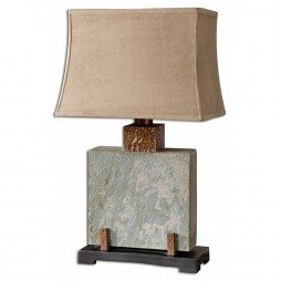 Indoor Outdoor Lamp Slate Square