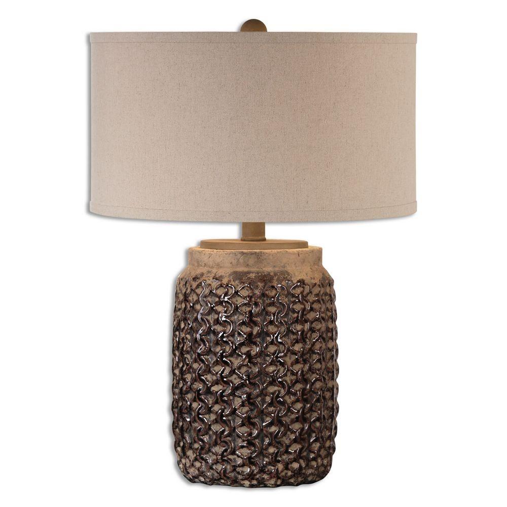 Home Accessories Bucciano Textured Ceramic Table Lamp
