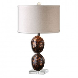Awanata Tortoise Shell Table Lamp 26649-1