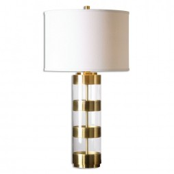 Angora Brushed Brass Table Lamp 26669-1