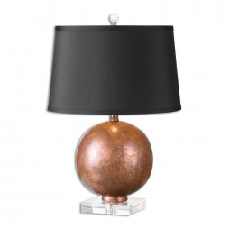 Armel Oxidized Copper Table Lamp 26670
