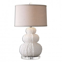 Fontanne Shell Ivory Table Lamp 26671