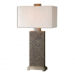 Canfield Coffee Bronze Table Lamp 26938-1
