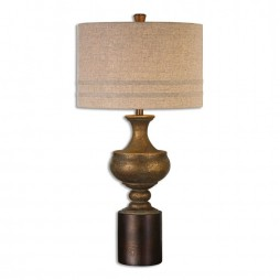 Giuliano Antiqued Gold Table Lamp 26939-1