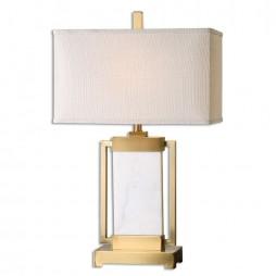 Marnett White Marble Table Lamp 26940-1