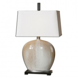 Baycliff Beige Ceramic Table Lamp 27664