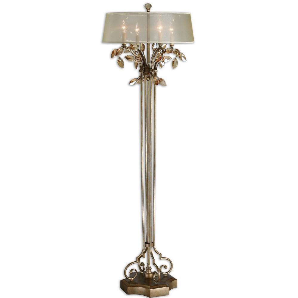 Lamps Uttermost Alenya Gold Floor Lamp 28412 1