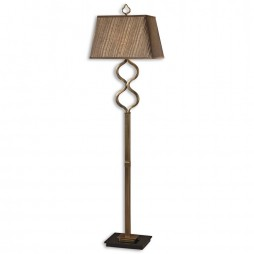 Jareth Coffee Bronze Floor Lamp 28956