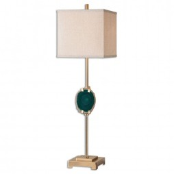 ACotes Emerald Agate Buffet Lamp 29032-1