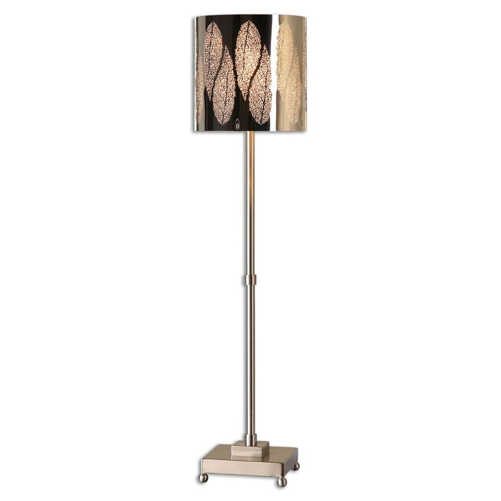 Home Accessories Fronda Brushed Nickel Buffet Lamp 29177 1