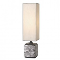 Ciriaco Antiqued Silver Buffet Lamp 29282-1