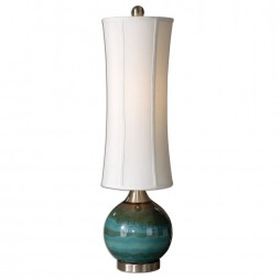 Atherton Blue Buffet Lamp 29287-1