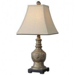 Valtellina Taupe Gray Buffet Lamp 29299