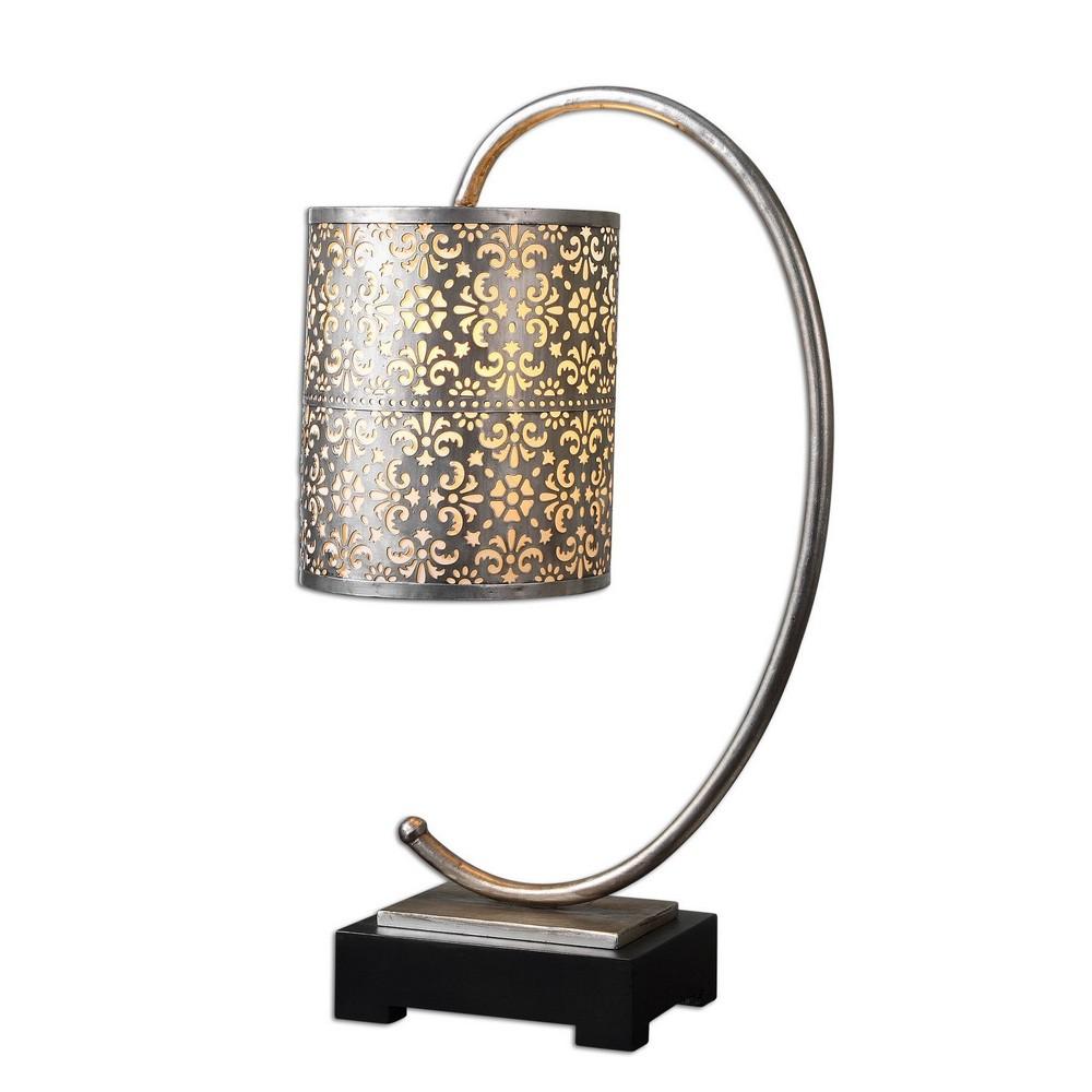 Lamps Uttermost Faleria Silver Buffet Lamp 29542 1