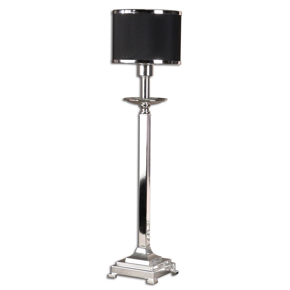Metal Shade Buffet Lamp: Uttermost Tuxedo, Buffet Lamp 29859-1