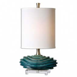 Talucah Teal Blue Table Lamp 29976-1