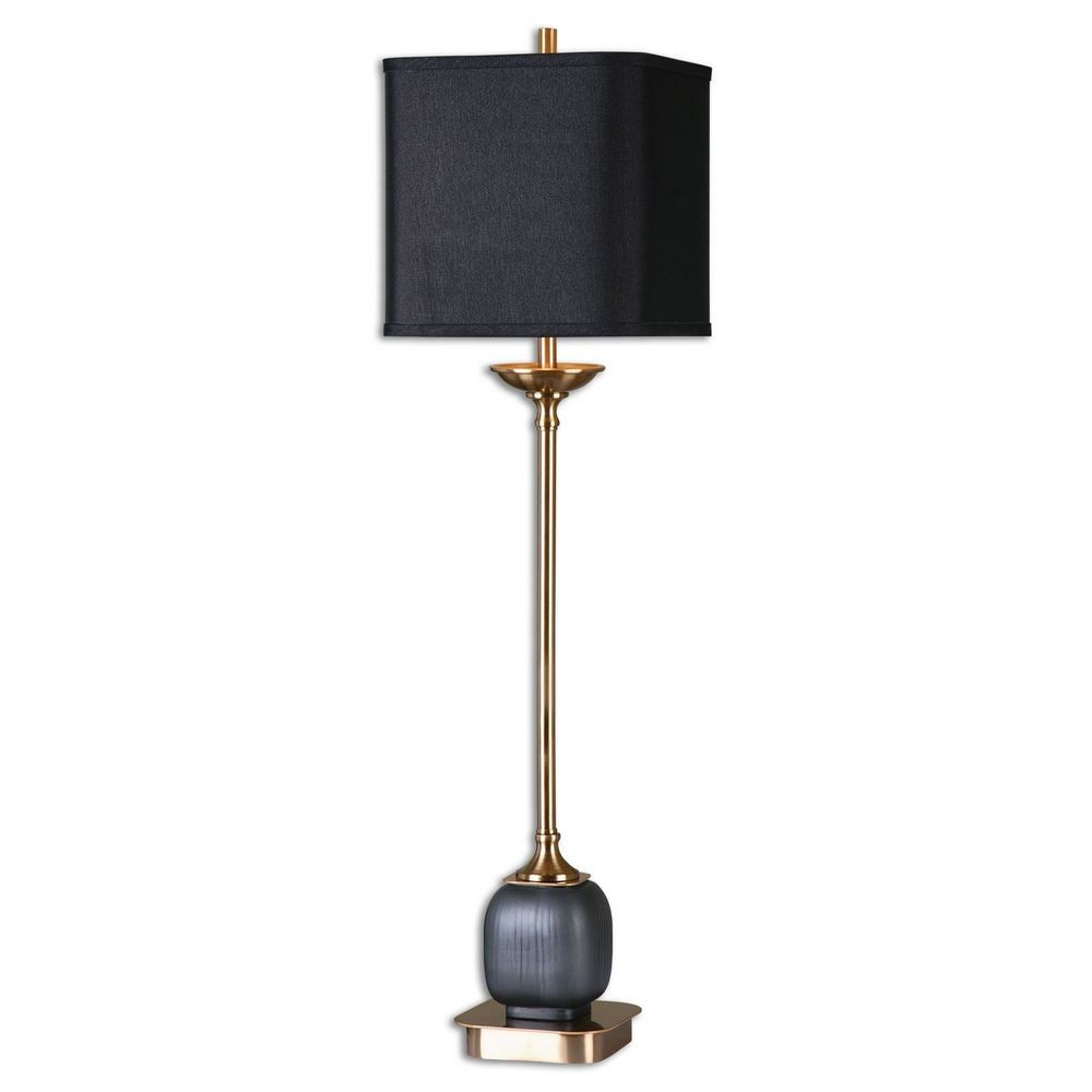 Home Accessories Thurston Brushed Brass Buffet Lamp