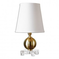Laton Mini Brushed Brass Table Lamp 29984-1