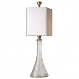 Ballina Fluted Glass Table Lamp 29987-1