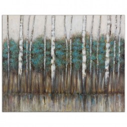 Edge Of The Forest Canvas Art 34284