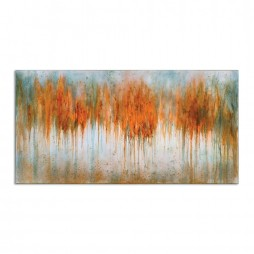 Autumn Waves Hand Painted Art 35313