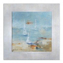 Sail Time Framed Art 41533