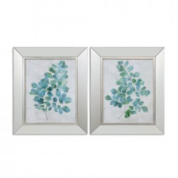 Spring Leaves Framed Art