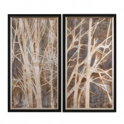 Twigs Hand Painted Art