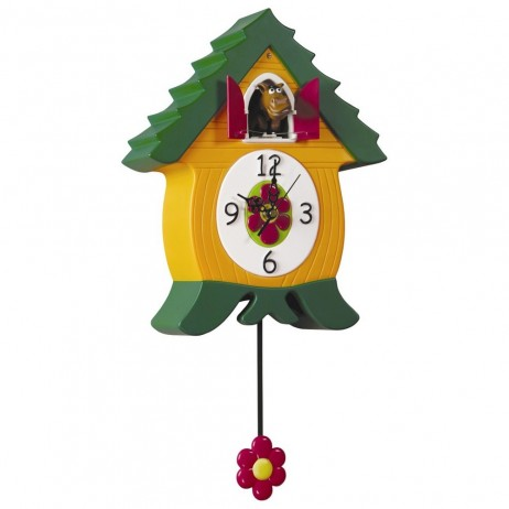 WhinnyCoo Horse Clock