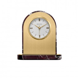 Desire Engravable Table Clock - Bulova B5012