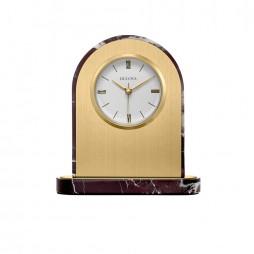 Desire Engravable Table Clock - Bulova B5012