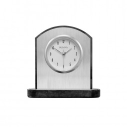 Mirage Engravable Table Clock Bulova B5013