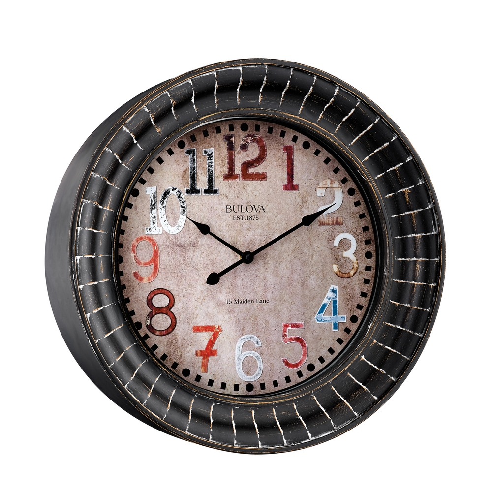 Paris 17 75 Quot Decorative Wall Clock Bulova C4824
