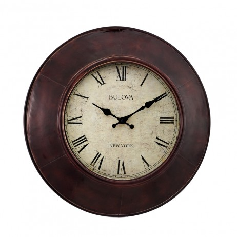 Watford Decorative Wall Clock - Bulova C4825