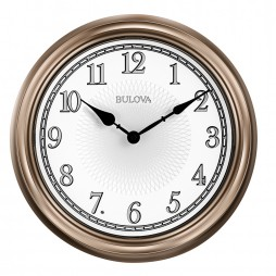 Light Time Indoor / Outdoor Wall Clock - Bulova C4826