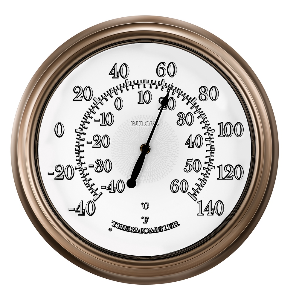 Lighted Thermometer Temp A Light Indoor Outdoor Lighted