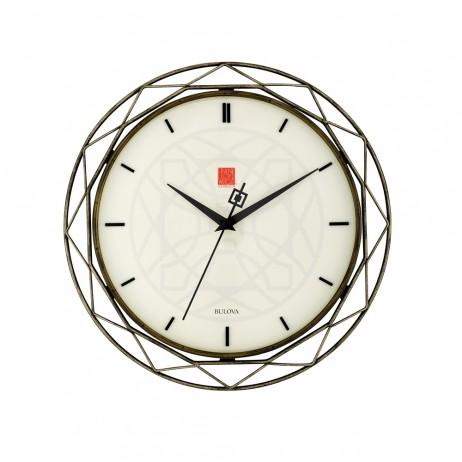 Frank Lloyd Wright Luxfer Prism Wall Clock C4834