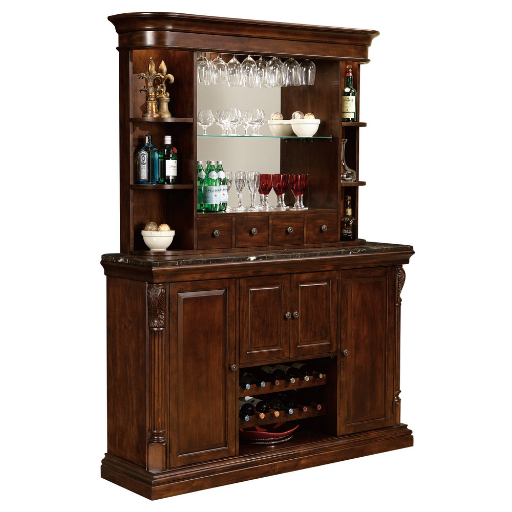 howard miller niagara home bar console 693006. Black Bedroom Furniture Sets. Home Design Ideas