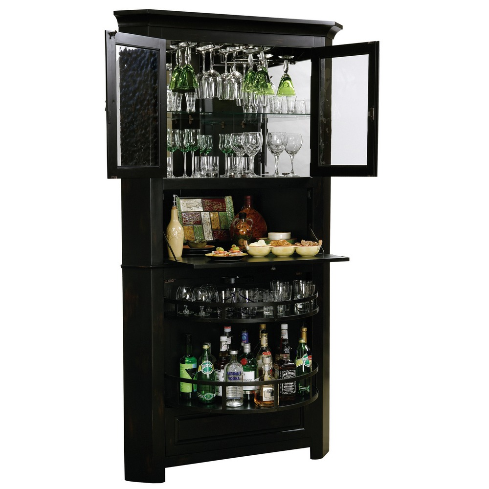 howard miller cornerstone home bar cabinet 695082 695 082. Black Bedroom Furniture Sets. Home Design Ideas
