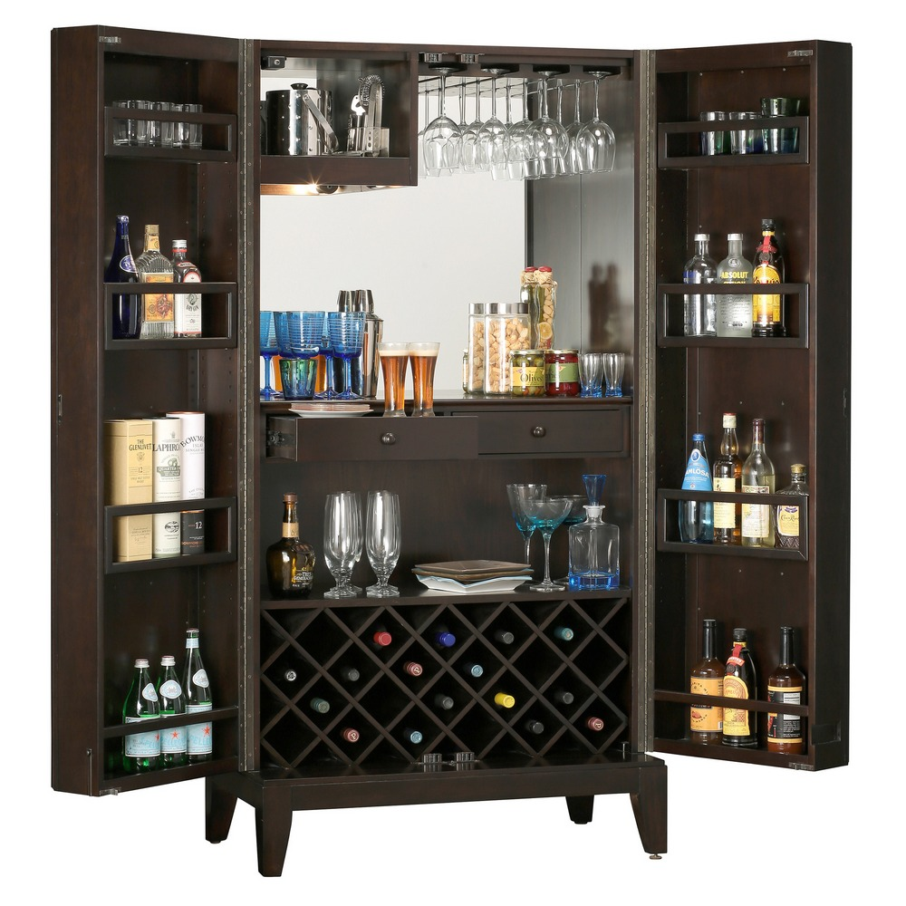 Howard miller barolo home bar and wine cabinet 695154 Home wine bar furniture