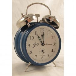 Sternreiter Mechanical Alarm Clock - Blue MM 111 602 36