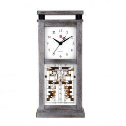 Bulova Frank Lloyd Wright Waterlilies Mantel Clock B4835