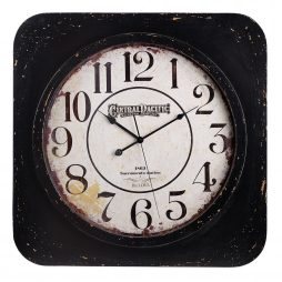 Conductor Oversized Wall Clock - Bulova -C4817