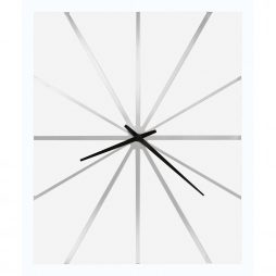 Howard Miller White Oversized Modern Wall Clock 625-616 Zander