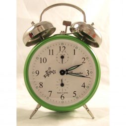 Mechanical Alarm Clock – Sternreiter Double Bell Green MM 111 602 34